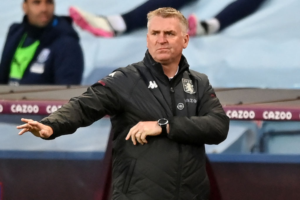 Dean Smith will be looking to build from Aston Villa's 11th place Premier League finish.