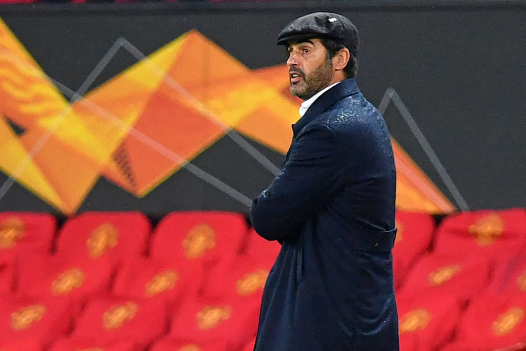 Spurs are closing in on Paulo Fonseca
