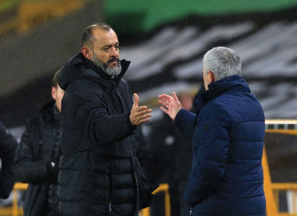Agreement: Manager Nuno closing in on Tottenham