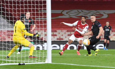 Arsenal FC v Slavia Praha - UEFA Europa League Quarter Final: Leg One