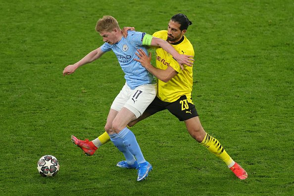 Kevin De Bruyne was key to Manchester City's run to the UEFA Champions League final.