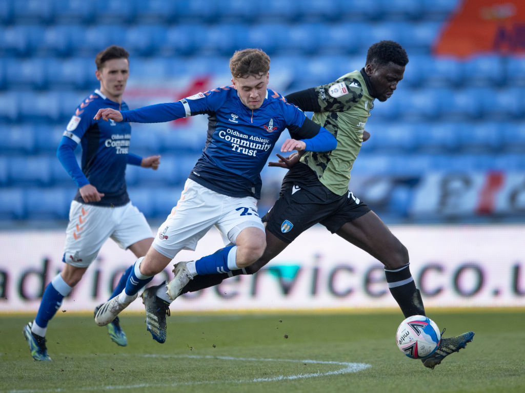 Oldham Athletic v Colchester United - Sky Bet League Two