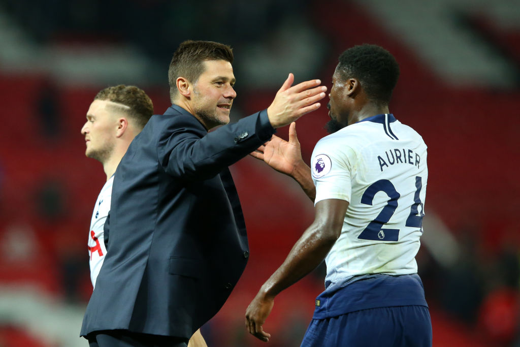 Spurs defender Serge Aurier won't be joining PSG this summer.