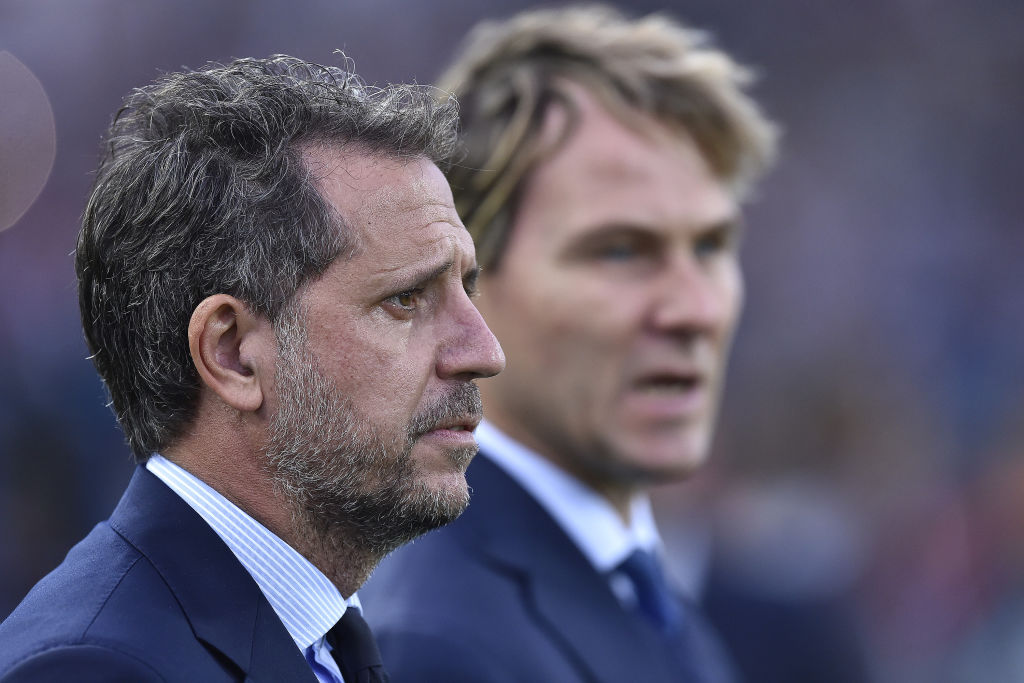 Spurs are reportedly closing in on Fabio Paratici