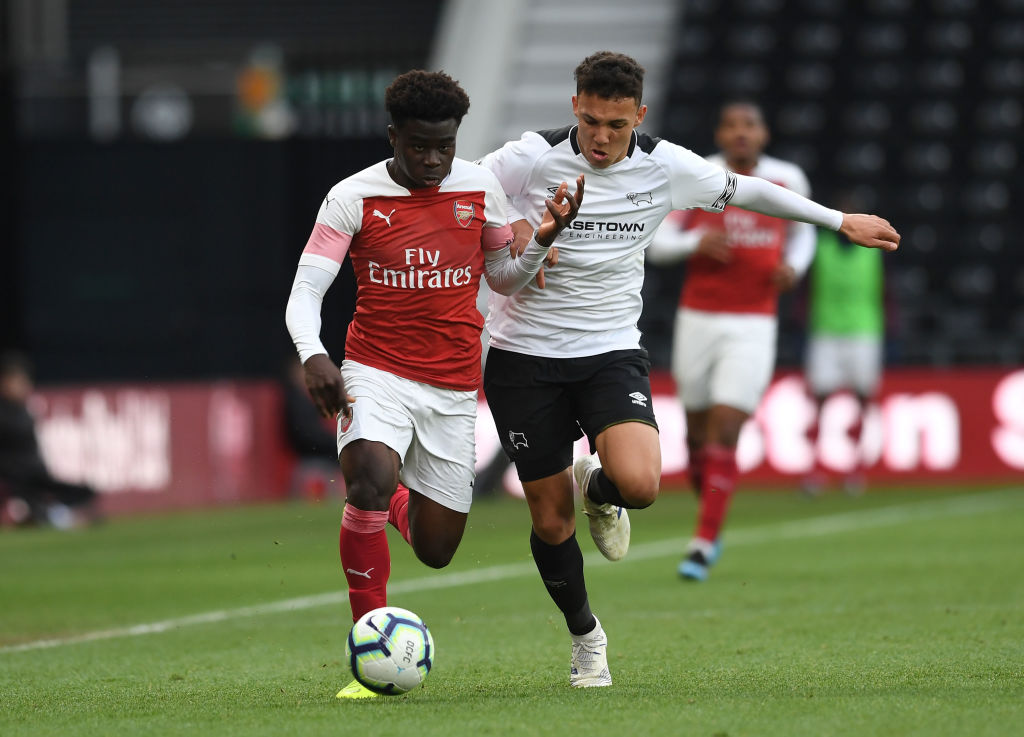 Derby County v Arsenal: U18 Premier League Playoff Final