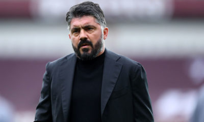 Gennaro Gattuso, head coach  of Ssc Napoli,  looks on during