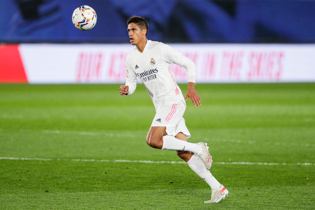 Varane, who wants to leave for a transfer to the Premier League, against Osasuna.