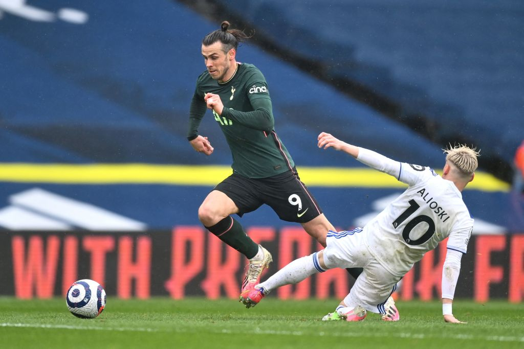 Gareth Bale in action for Spurs last season