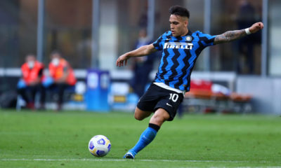 Lautaro Martinez of Fc Internazionale  in action during the