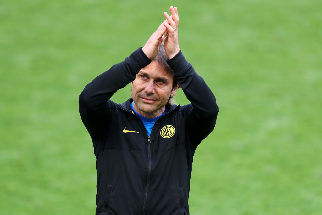 Conte has been linked with Tottenham