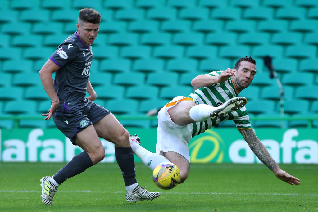 Celtic are being linked with Kevin Nisbet of Hibernian