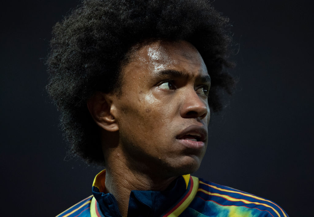 Arsenal have received a bid from Corinthians for Willian