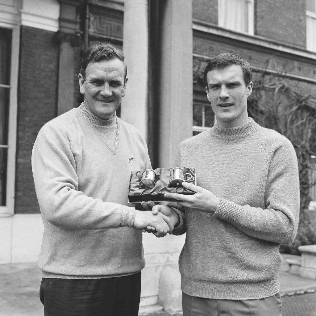 Don Revie And Paul Madeley