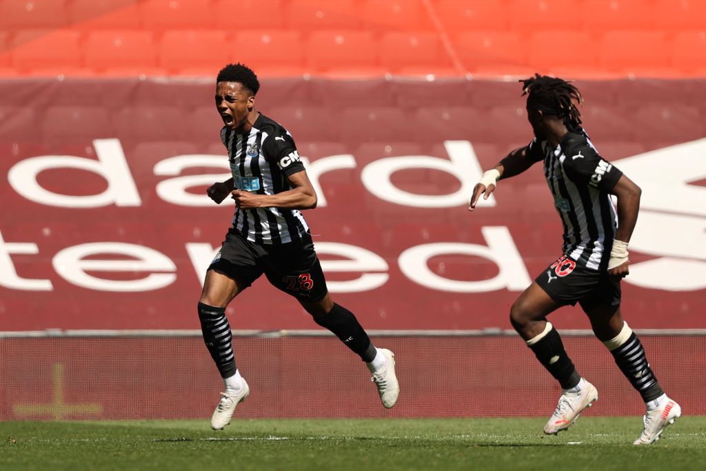Newcastle want to re-sign Joe Willock from Arsenal