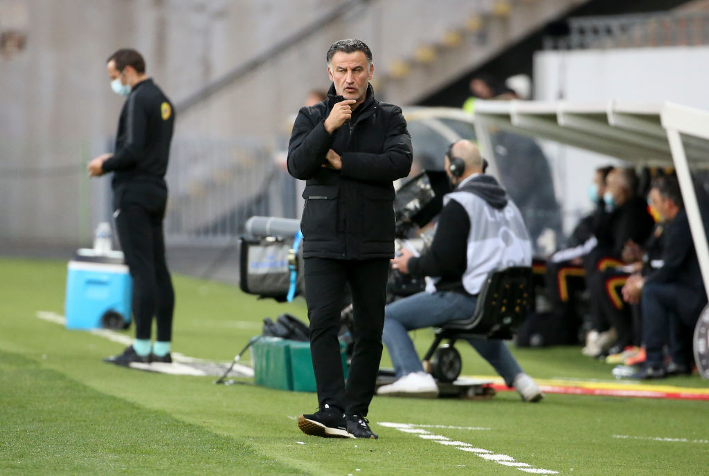 Spurs and Everton have been linked with Christophe Galtier