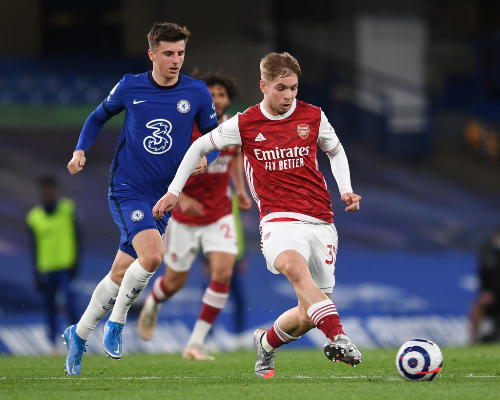 Emile Smith Rowe is currently Arsenal's only creative player.