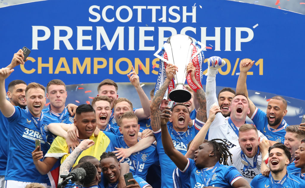 The defender was key to Rangers winning the SPL title.