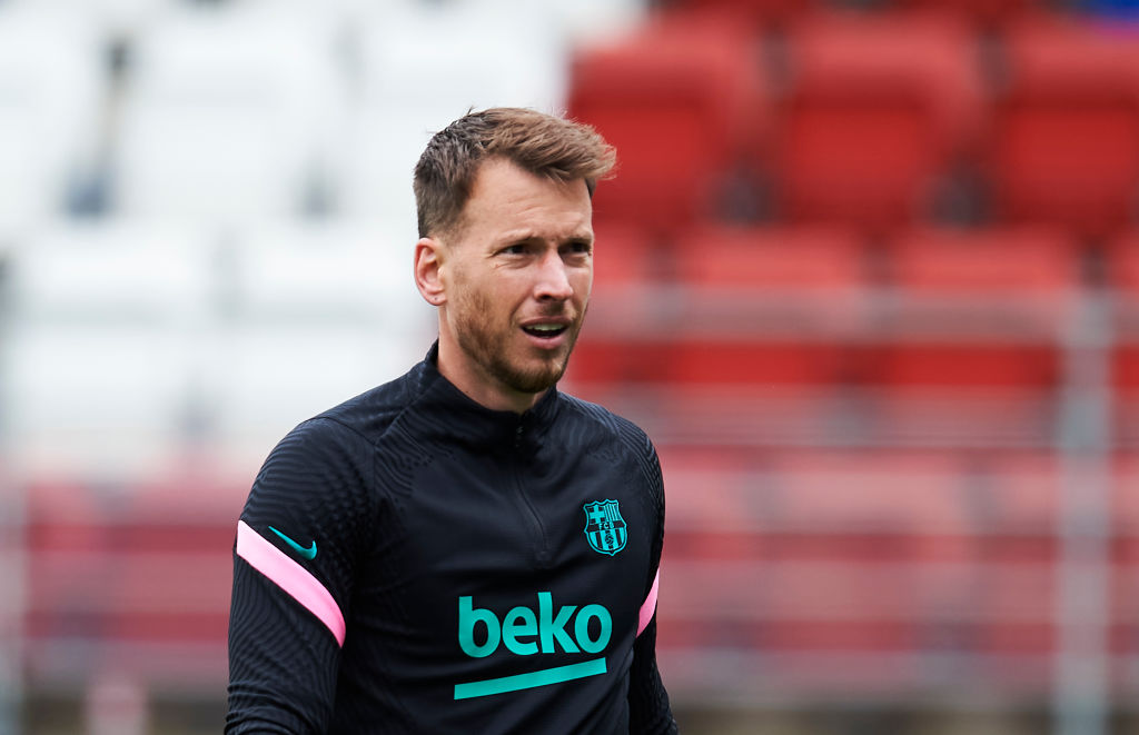 Neto has made just the 17 appearances for Barcelona