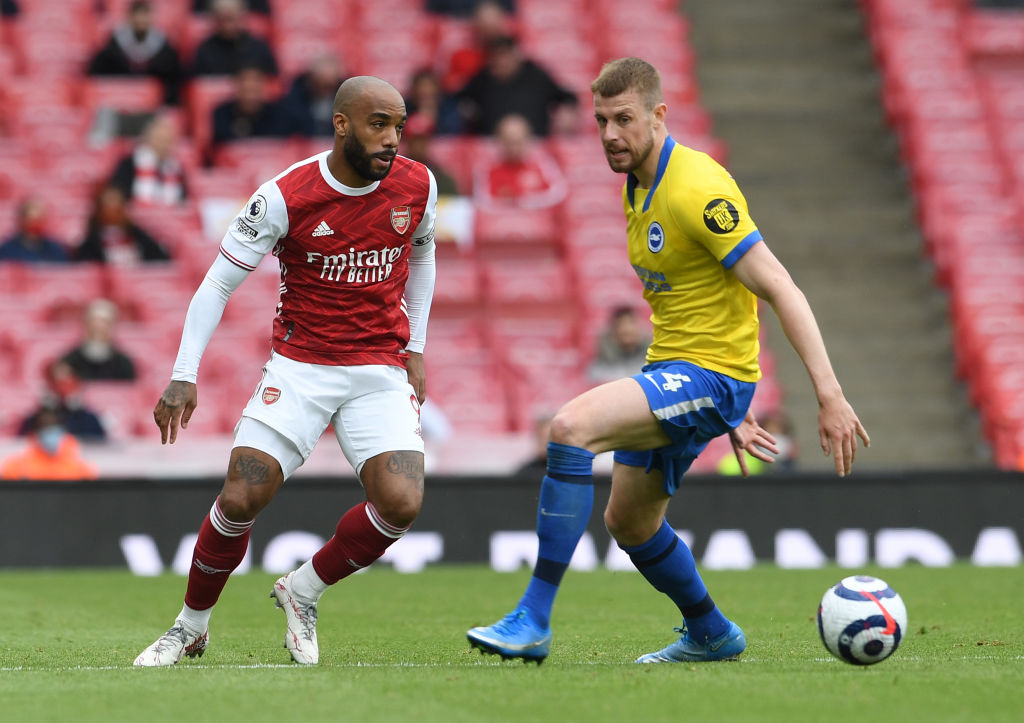 Arsenal are reportedly desperate to sell Alexandre Lacazette