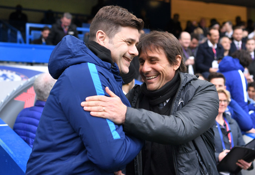 Antonio Conte is linked with Spurs.