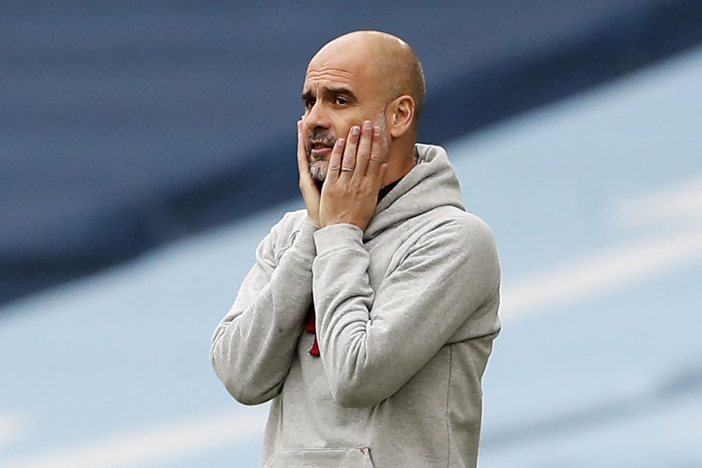 Pep Guardiola could have to sign a Fernandinho replacement this summer.