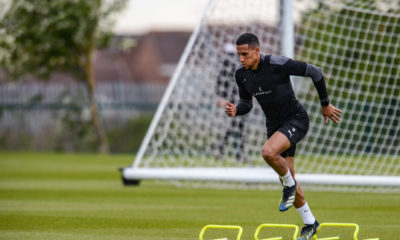 newcastle-united-isaac-hayden-premier-league-training