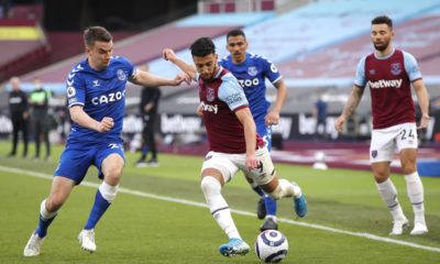 west-ham-united-said-benrahma-everton-seamus-coleman-london-stadium-premier-league