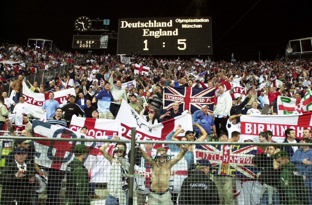 Will England beat Germany at Euro 2020 like they did 20 years ago in the 2002 World Cup qualifiers?