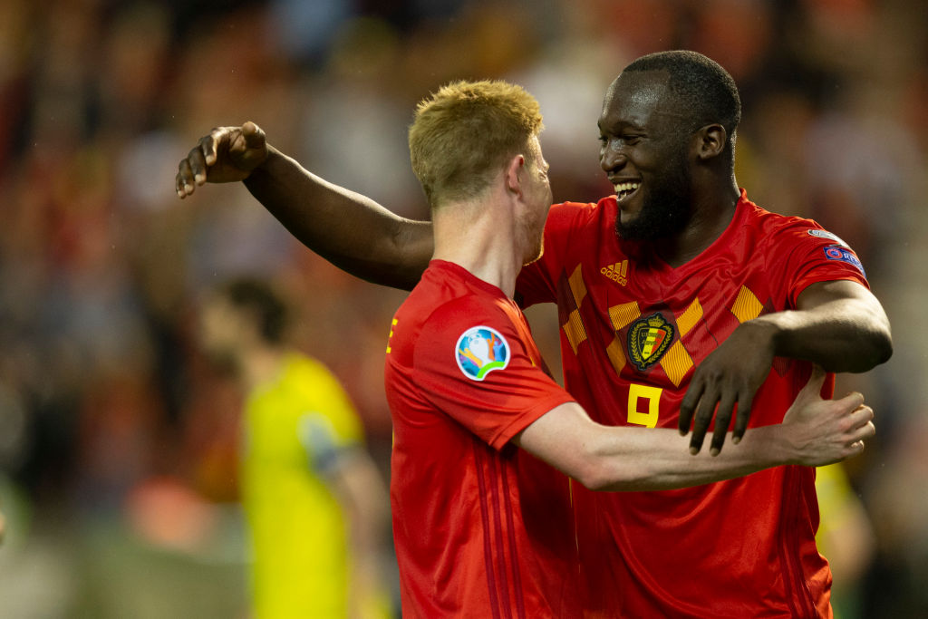 Kevin De Bruyne and Romelu Lukaku could be dangerous in the Premier League for Man City.