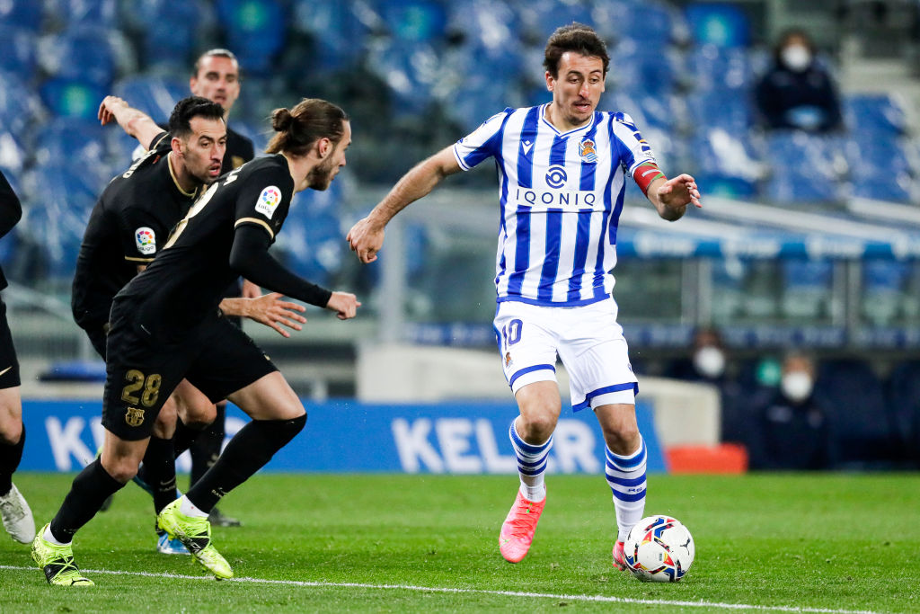 Mikel Oyarzabal has a £64m release clause.