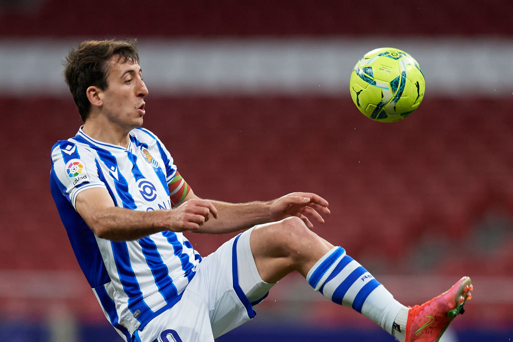 The winger is one of Real Sociedad's star players.