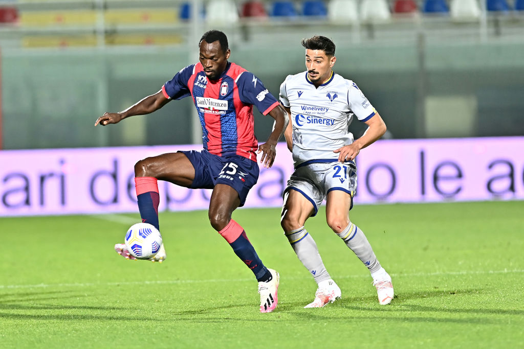 Spurs are reportedly eyeing Crotone striker Simy