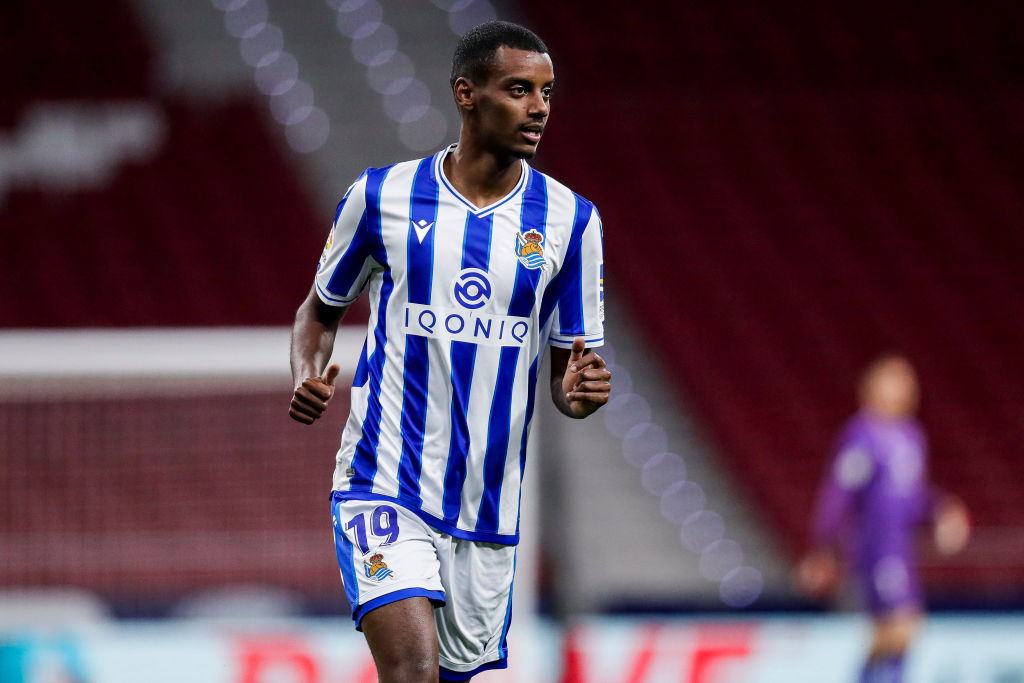 Arsenal were linked with Alexander Isak in the summer transfer window