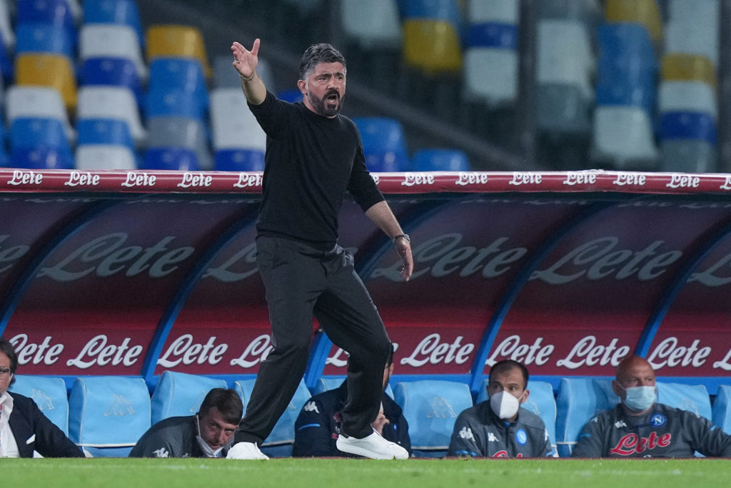 tottenham-hotspur-next-manager-candidate-gennaro-gattuso-target-napoli-gestures-to-players-hellas-verona-serie-a