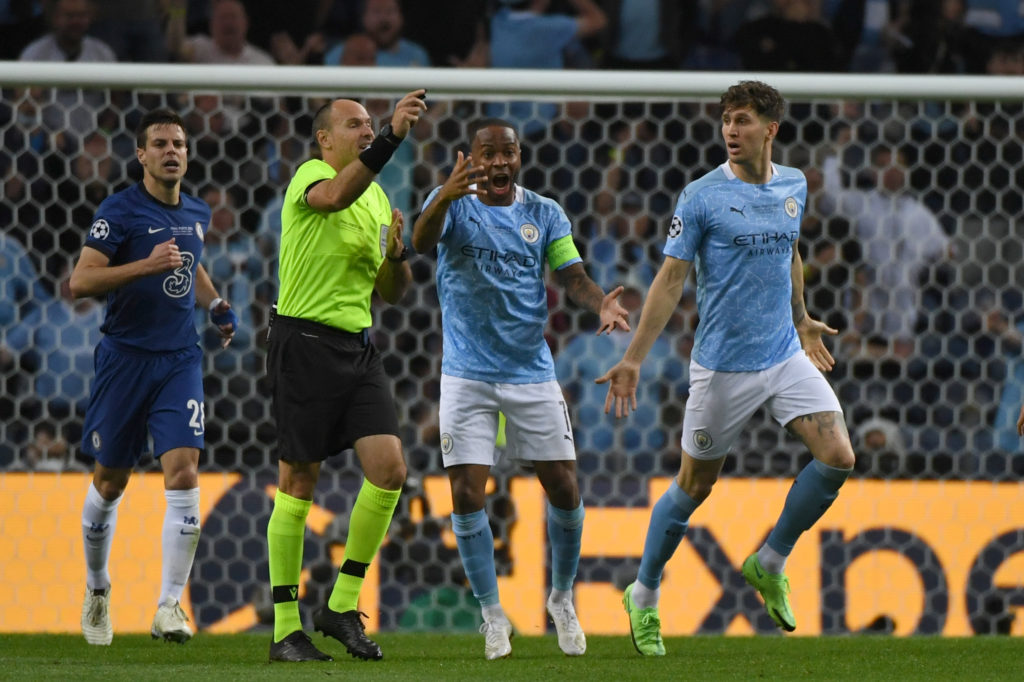 Manchester City lost 1-0 to Chelsea in the UEFA Champions League final.