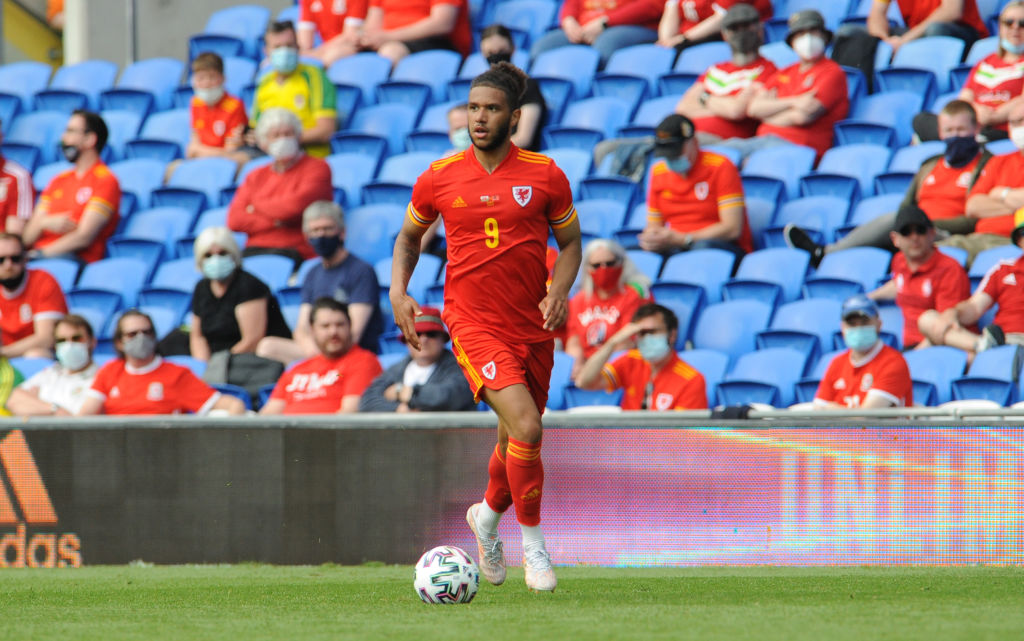 Leeds United star Tyler Roberts on international duty as Wales drew with Albania