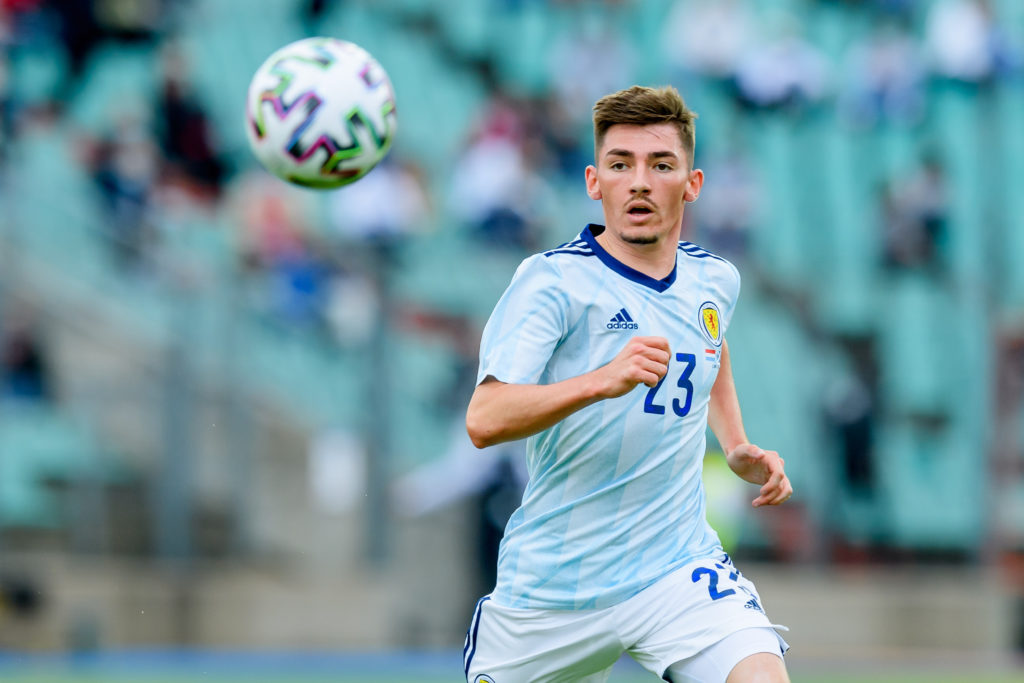 newcastle-united-transfer-target-billy-gilmour-chelsea-midfielder-waits-for-ball-scotland-luxembourg-euro-2020-warm-up-friendly