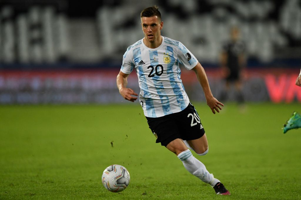 Spurs and Argentina midfielder Giovani Lo Celso