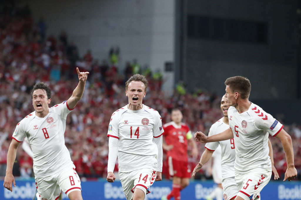 UEFA Euro 2020 Group Stage: Russia vs Denmark