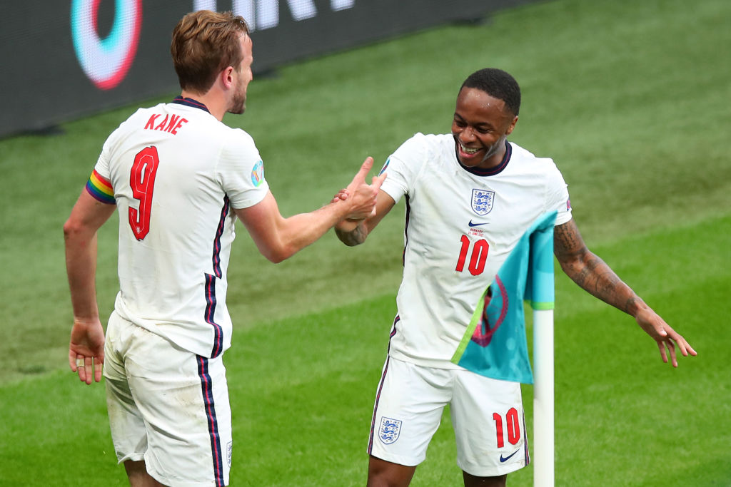The winger has been one of England's best performing players in the Euros.