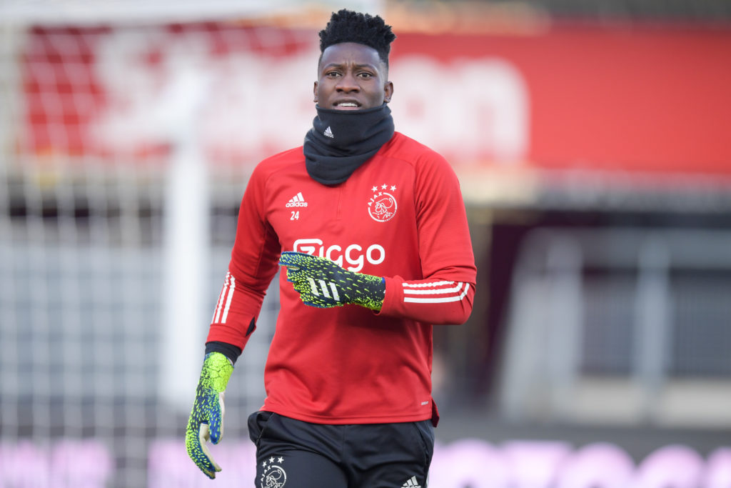 Arsenal are reportedly keen on Andre Onana