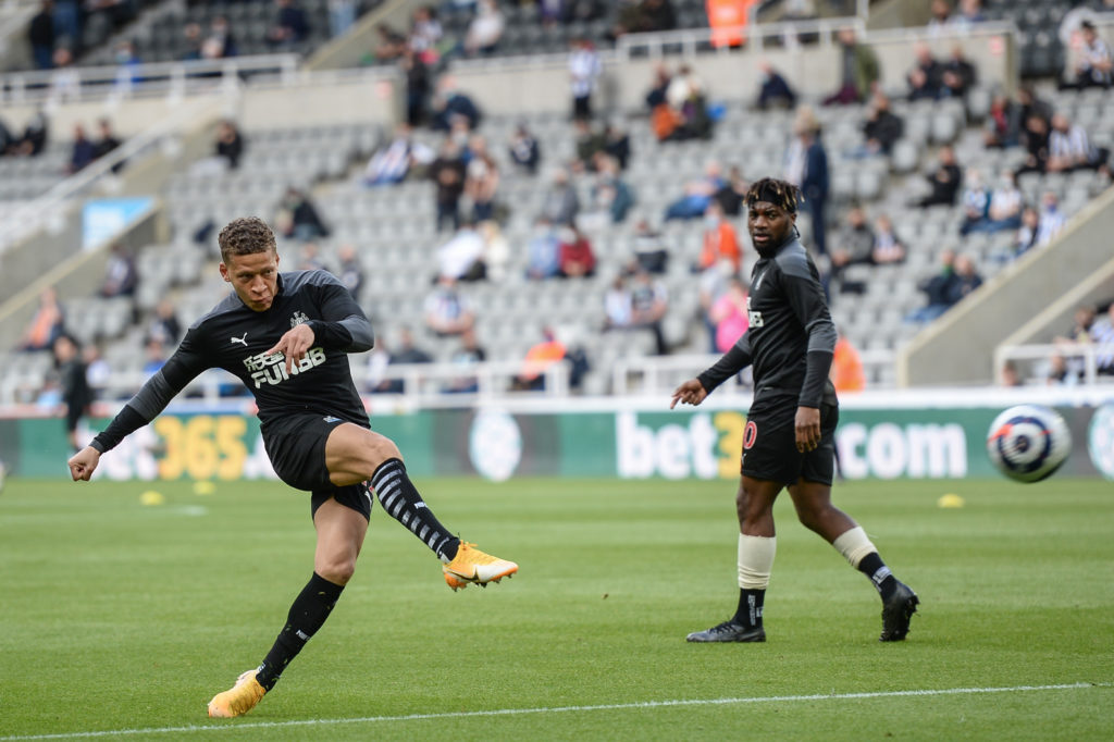newcastle-united-transfer-gossip-contract-dwight-gayle-warms-up-premier-league-sheffield-united-st-james-park
