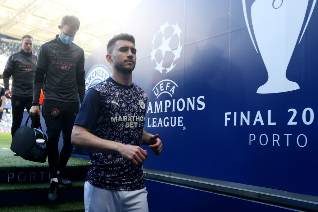 Manchester City defender Aymeric Laporte is keen on a move to FC Barcelona.