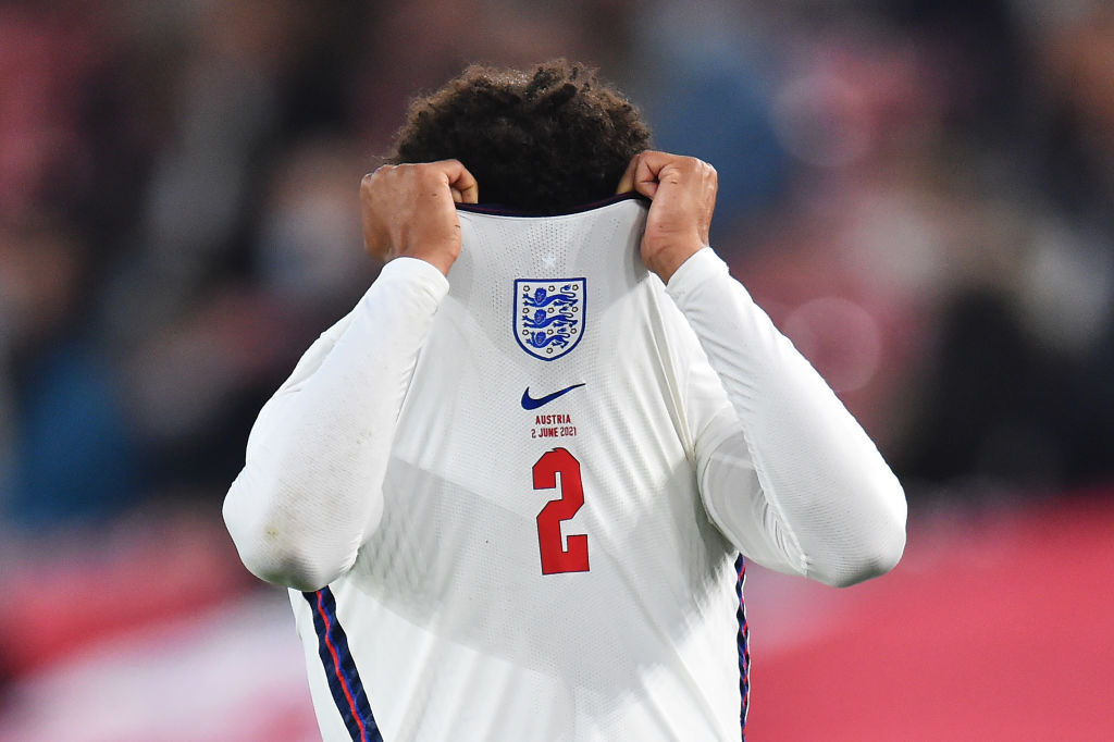 Trent Alexander-Arnold limped off as England won their Euro 2020 warm-up