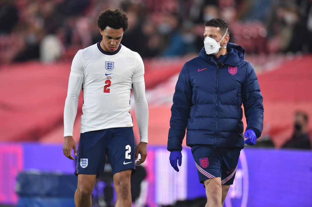 England will reportedly be without Trent Alexander-Arnold at Euro 2020