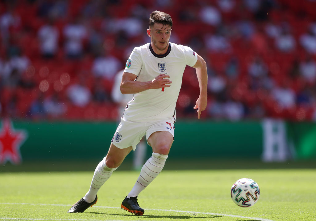 Declan Rice has been lauded by Kalvin Phillips after England won their Euro 2020 opener