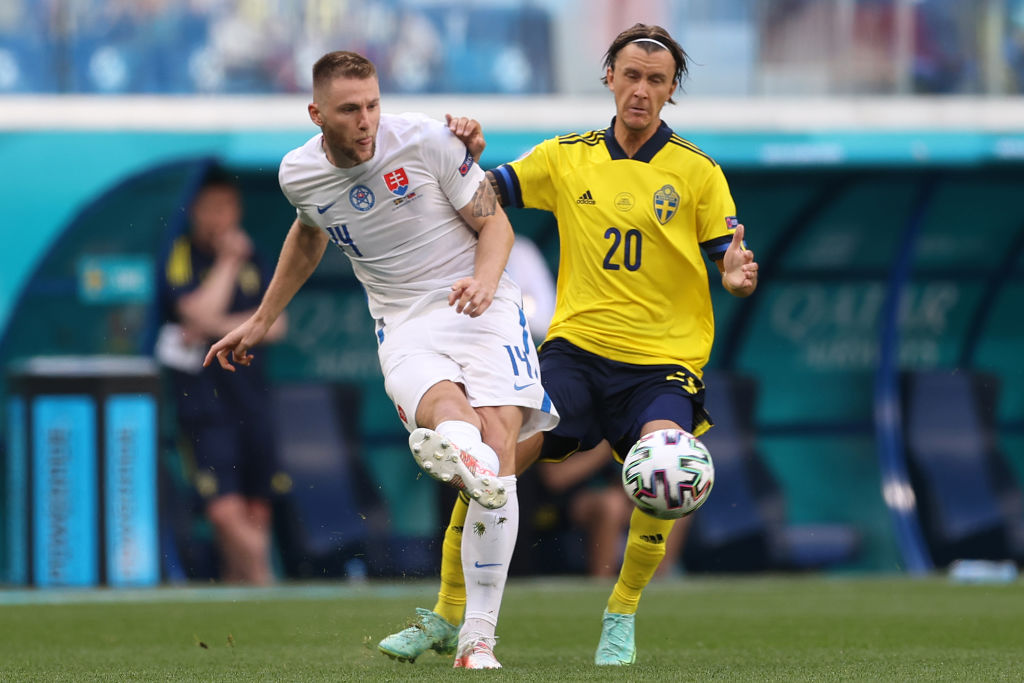 Spurs are working on a move for Milan Skriniar