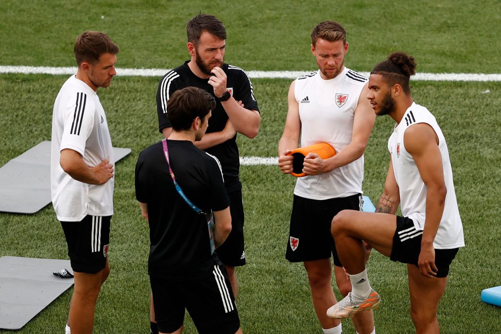 Wales Training Session and Press Conference - UEFA Euro 2020: Group A