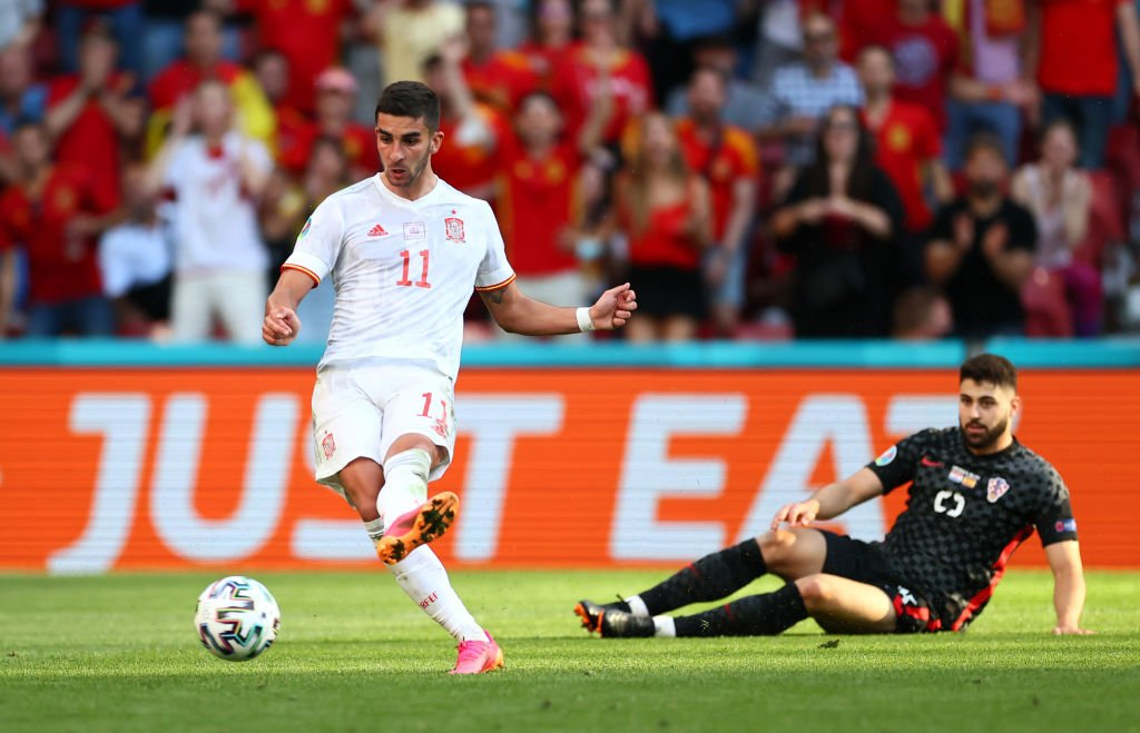 Ferran Torres was a star for Spain in their 5-3 win over Croatia.