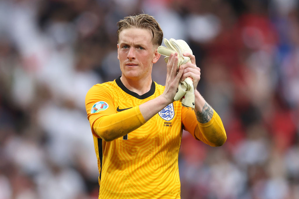 Jordan Pickford was outstanding for England against Germany